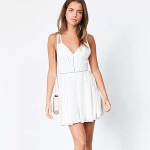 Urban Outfitters Arianna Lace Ladder Dress